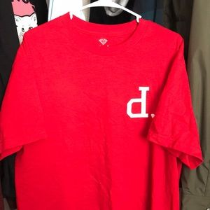 Diamond x Primitive red tee